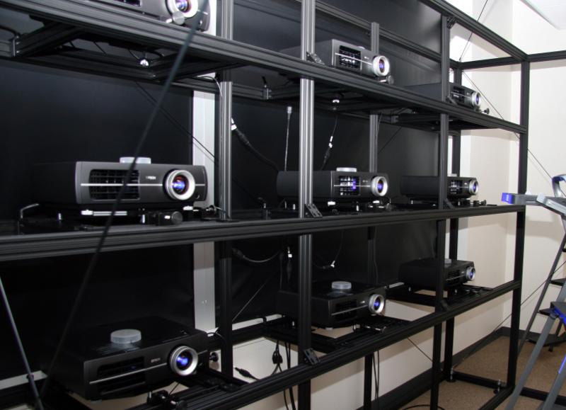 VisWall-9HD (3x3 HD projectors)