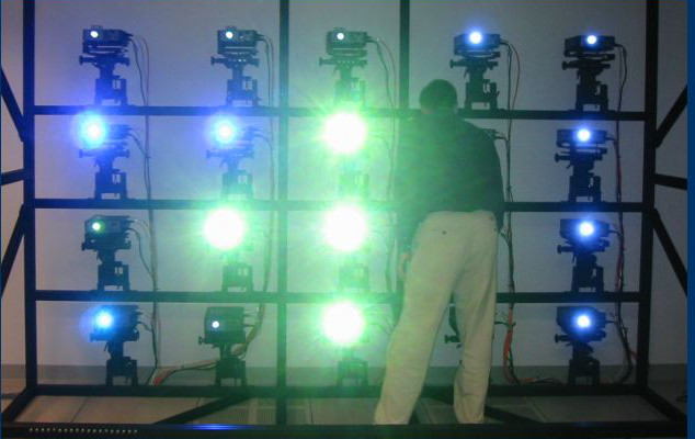VisWall-20X projectors